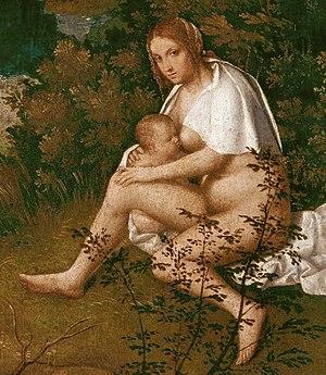 The Tempest (Giorgione) - Image: Giorgione 021
