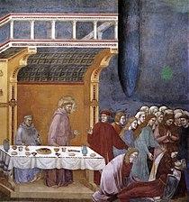 Giotto di Bondone - Legend of St Francis - 16. Death of the Knight of Celano - WGA09140.jpg
