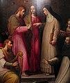 Giovan battista naldini e giovanni balducci, matrimonio mistico di s. caterina da siena, profeta david e santi, 1568 poi 1591 ca., da s. caterina 03.jpg