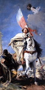 Giovanni Battista Tiepolo - St James the Greater Conquering the Moors - WGA22297.jpg