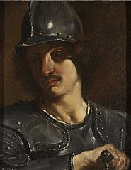 Bust of a Soldier in Armor