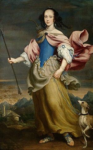 Giovanni Maria Morandi - Giovanni Maria Morandi, Duchess Claudia Felicitas, Kunsthistorisches Museum, 1666