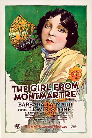 The Girl from Montmartre - Film poster