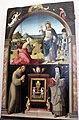 Girolamo genga o timoteo viti (attr.), noli me tangere e tabernacolo tra i ss. francesco e chiara, 1500-50 circa.JPG