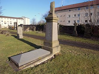Thomas Lipton - Glasgow. Southern Necropolis. Lipton's grave.