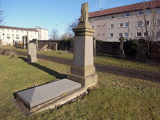 Glasgow. Southern Necropolis. Thomas Lipton's grave