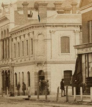 Adelaide Football Club (SAFA) - The club was founded at the Globe Inn Hotel, Rundle Street (c. 1860)
