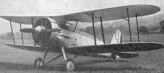 Gloster Gauntlet - Gloster SS.19 photo from L'Aerophile May 1932