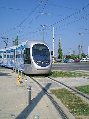 Athens Mass Transit System - Image: Glyfada Tram