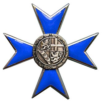 Saarland Order of Merit - Cross of the Saarland Order of Merit