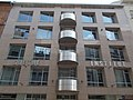 Goethe Institut, balconies, Ráday Street, 2017 Ferencváros.jpg