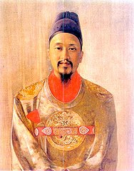 Gojong-King of Korea-by.Hubert Vos-1898-detail.jpg