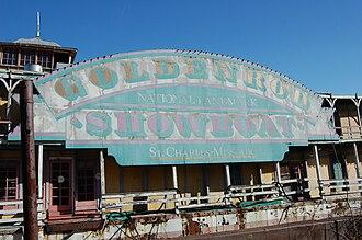 Goldenrod (showboat) - Goldenrod Showboat Sign