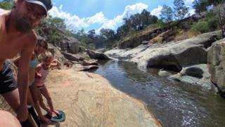 Seven Creeks river in Australia