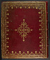 Gospel lectionary (the 'Odalricus Peccator Gospel Lectionary') - Lower Cover (Harley ms 2970).jpg