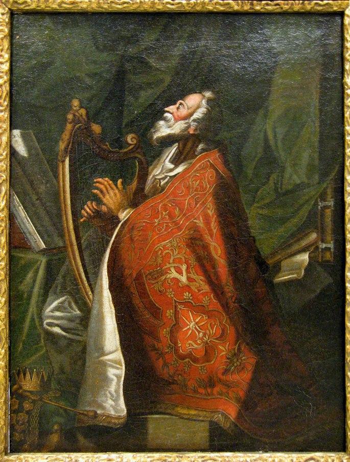 Gottlieb Welté - King David