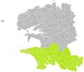 Goulien (Finistère) dans son Arrondissement.png