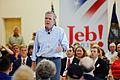 Governor of Florida Jeb Bush at TurboCam, Barrington, NH on August 24th by Michael Vadon.jpg