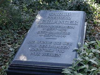 Carlo von Erlanger German ornithologist and explorer