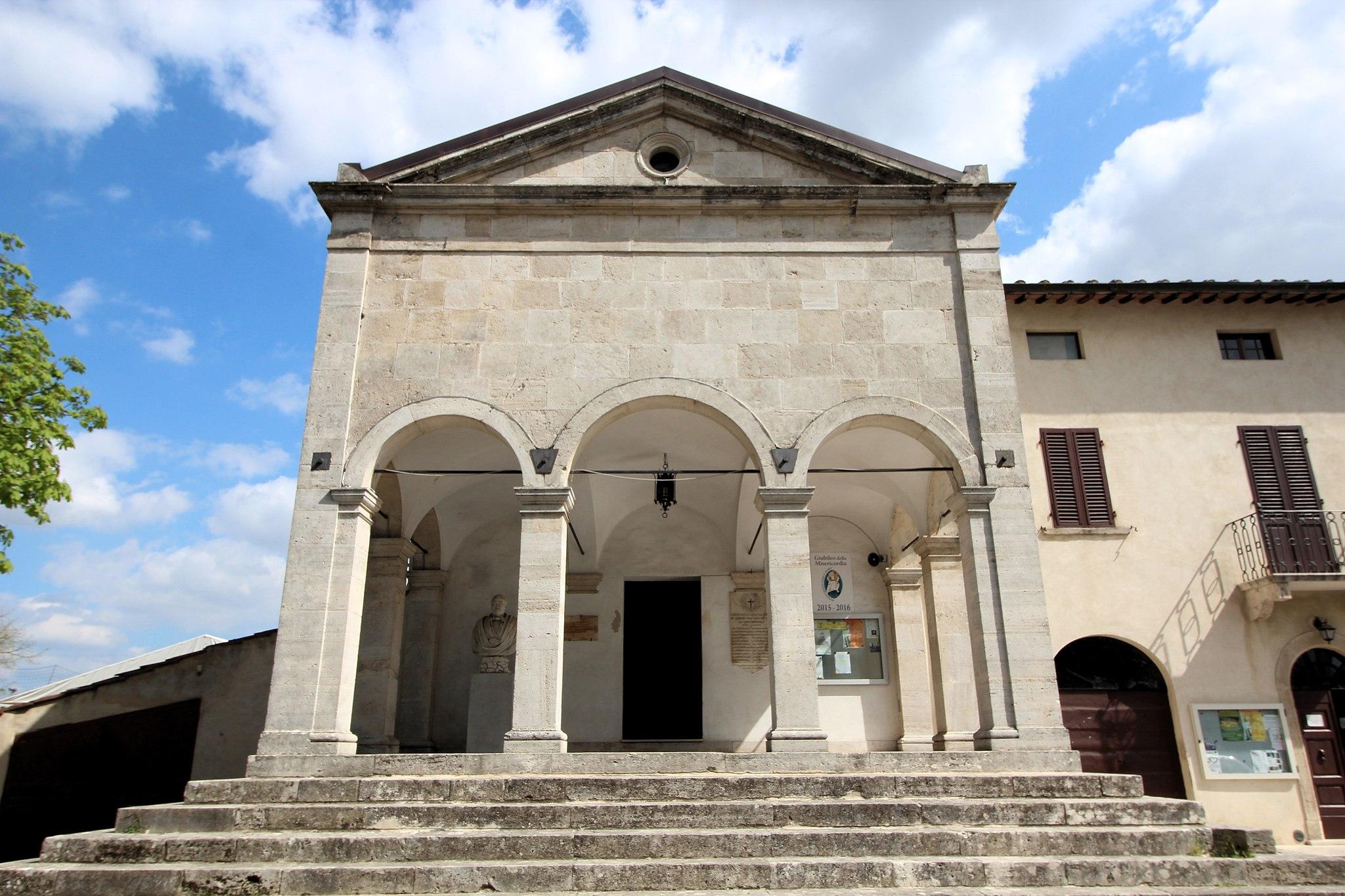 Chiesa San Marziale (Gracciano), facciata