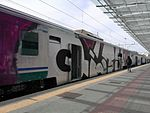 Graffiti on rolling stock in Rome 320.jpg