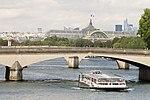 Grand Palais and Pont du Carrousel, Paris 14 August 2015.jpg