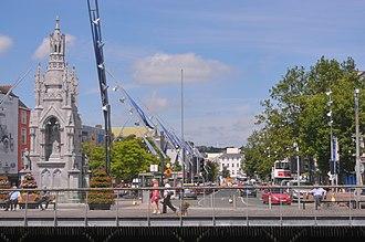 Grand Parade, Cork - Grand Parade looking north in 2017