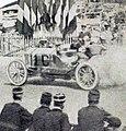 Grand Prix de l'ACF 1906, Arthur Duray devant les tribunes.jpg
