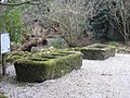 Granite tin moulds in Trewidden Garden - geograph.org.uk - 1170398.jpg