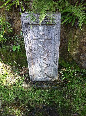 Hermann Görtz - Grave of Görtz in Glencree, Wicklow