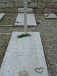 Grave of Tadeusz Olszewski at Polish Cemetery in Monte Cassino.jpg