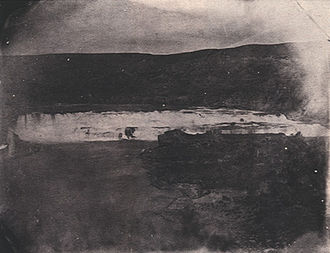 William F. Raynolds - The Great Falls of the Missouri River (1860) by James D. Hutton is one of the few remaining photographs taken during the expedition. The wet-plate photographic techniques available at the time of the expedition provided only poor quality imagery.