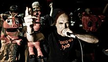 Green Jellÿ performing in 2010