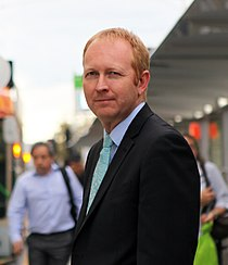 Greg Barber 2014 tram.jpg