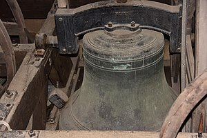 All Saints' Church, Gresford - One of the Gresford bells