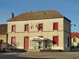 The town hall in Gron