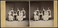 Group portrait of a men, two women and three girls, from Robert N. Dennis collection of stereoscopic views.png