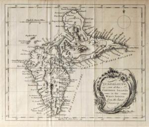 HMS Levant (1758) - Image: Guadeloupe Banat v 2