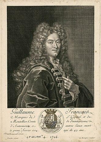 Guillaume de l'Hôpital - Image: Guillaume de l'Hôpital