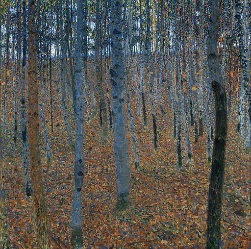 Gustav Klimt - Beech Grove I - Google Art Project