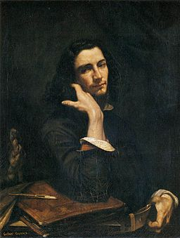 Gustave Courbet - Self-Portrait (Man with Leather Belt) - WGA05486