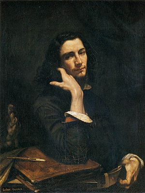 Gustave Courbet - Self-Portrait (Man with Leather Belt), ca. 1845 - 1877.
