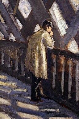 Gustave caillebotte, studio per il pont d'europe, 1876, 03