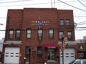 Guttenberg, New Jersey - The town hall of Guttenberg
