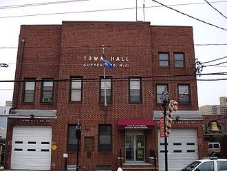 Guttenberg, New Jersey - The town hall of Guttenberg