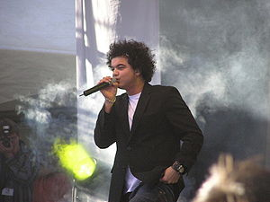 Guy Sebastian - Sebastian performing at the Australian Gospel Music Festival, April 2004