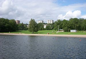 View of Hässelby Strand