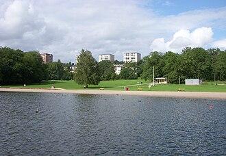 Hässelby-Vällingby - View of Hässelby Strand