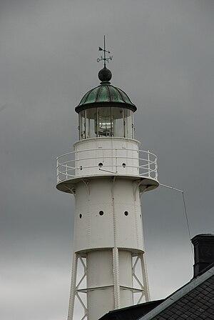Högby Lighthouse - Image: Högby lighthouse lantern