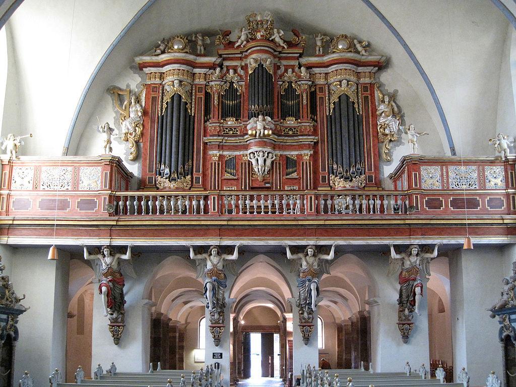 Höxter, Corvey, St. Stephanus und Vitus, die Orgel (1)
